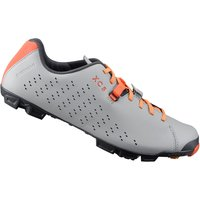 Shimano XC5 MTB Shoes - Grey/Orange - EU 48 - Grey/Orange