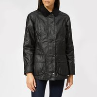 Barbour Women's Beadnell Wax Jacket - Black - UK 8