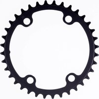 Rotor Round Shimano ALDHU Inner Chainring - 110 x 4 BCD - 34T - Black