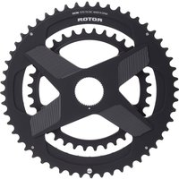 Rotor ALDHU Direct Mount Round Chainring - 110 BCD - 52/36T - Black