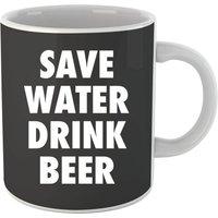 Beershield Save Water Drink Beer Mug - Beer Gifts