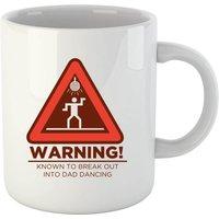 Warning Dad Dancing Mug - Mug Gifts