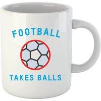 Football Takes Balls Mug - Football Gifts