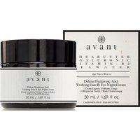 Avant Skincare Deluxe Hyaluronic Acid Vivifying Face and Eye Night Cream 50ml