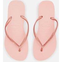 Havaianas Women's Slim Flip Flops - Ballet Rose - UK 5