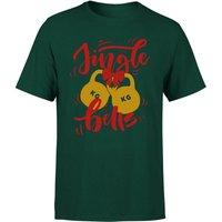 Jingle (Kettle) Bells T-Shirt - Forest Green - S - Forest Green