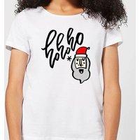 Ho Ho Ho Women's T-Shirt - White - S - White