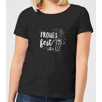 Frohes Fest Women's T-Shirt - Black - XL - Black