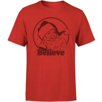 Believe Red T-Shirt - Red - S - Red