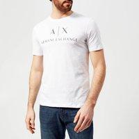 Armani Exchange Men's Script Logo T-Shirt - White - M