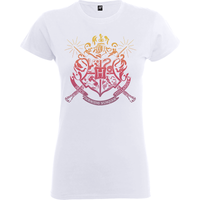 Harry Potter Draco Dormiens Nunquam Titillandus Women's White T-Shirt - L - White