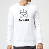 Caticorn Sweatshirt - White - S - White
