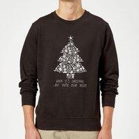 Dead Inside Sweatshirt - Black - XXL - Black