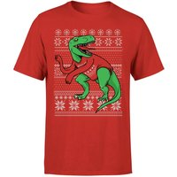T-Rex Sleeves T-Shirt - Red - XS - Red