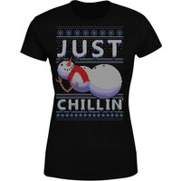 Just Chillin Women's T-Shirt - Black - S - Black