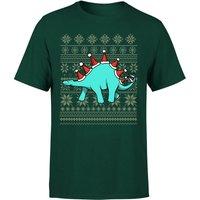 Stegosantahats T-Shirt - Forest Green - L - Forest Green