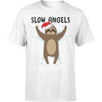 Slow Angels T-Shirt - White - 5XL - White