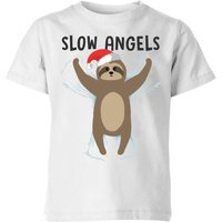 Slow Angels Kids' T-Shirt - White - 11-12 Years - White