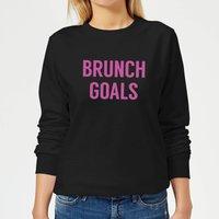 Brunch Goals Women's Sweatshirt - Black - XS - Black