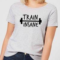 Train Insane Women's T-Shirt - Grey - XL - Grey