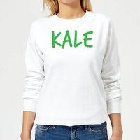 Kale Women's Sweatshirt - White - S - White