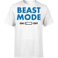 Beast Mode On T-Shirt - White - S - White