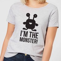 I'm the Monster Women's T-Shirt - Grey - L - Grey
