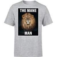 The Mane Man T-Shirt - Grey - XL - Grey