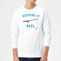 Keeping it Reel Sweatshirt - White - M - White