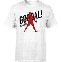 Goal Machine T-Shirt - White - S - White