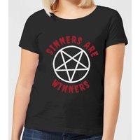 Sinners are Winners Women's T-Shirt - Black - 4XL - Black
