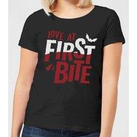 Love at First Bite Women's T-Shirt - Black - XXL - Black