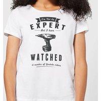 Im not an Expert Women's T-Shirt - White - M - White