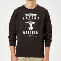 Im not an Expert Sweatshirt - Black - M - Black