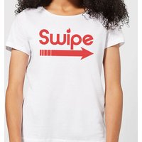 Swipe Right Women's T-Shirt - White - 4XL - White