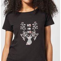 Ho Ho Ho Women's T-Shirt - Black - XL - Black
