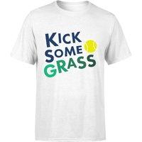 Kick Some Grass T-Shirt - White - 5XL - White