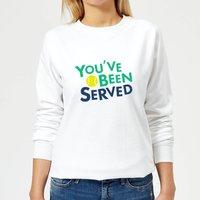 You've Been Served Women's Sweatshirt - White - M - White