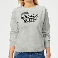 Sudadera  Prosecco Queen  - Mujer - Gris - XS - Gris