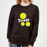 Sudadera  Tennis  - Mujer - Negro - XS - Negro