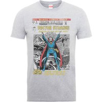 Marvel Doctor Strange Premire Comic Cover Mens Grey T-Shirt - L - Grey