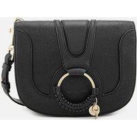 shop for See By Chloé Women's Hana Leather Cross Body Bag - Black at Shopo