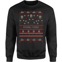 Mumbo Jumbo Festive Black Sweatshirt - XXL - Black