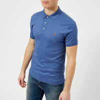 Polo Ralph Lauren Men's Slim Fit Soft Touch Polo Shirt - Faded Royal Heather - XL