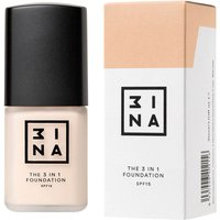 3INA Makeup 3-In-1 Foundation 30ml (Various Shades) - 208