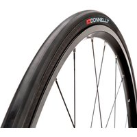 Donnelly Strada LGG SC Folding Clincher Road Tyre - 700X23C - BLACK/BLACK