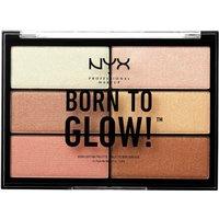 Paleta de iluminadores Born to Glow Highlighting Palette NYX Professional Makeup