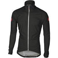 Castelli Emergency Rain Jacket - L - Black