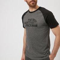 The North Face Men's Raglan Easy Short Sleeve T-Shirt - TNF Medium Grey Heather - L