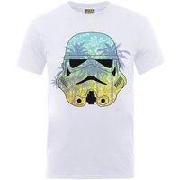 Star Wars Stormtrooper Hawaii T-Shirt - White - XXL - White